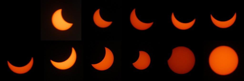 Partielle Sonnenfinsternis 20. März 2015, 10:03 bis 11:48 (Kamerastandort Zürich)